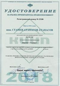 геодезист - удостоверение